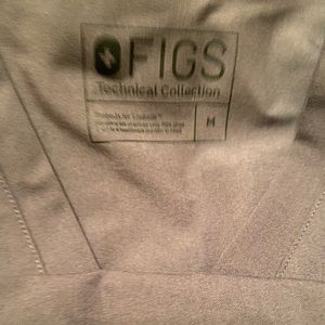 Figs Other - Figs charcoal grey/gray scrub set size medium